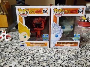 Super Saiyan Vegeta(Red Chrome) and Gotenks Super Ghost Kamikaze Attack funko lot for Sale in Lexington, KY