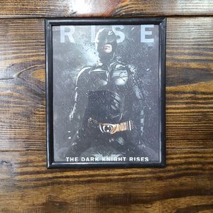 Batman Dark Knight Rises Poster Frame for Sale in Clearwater, FL