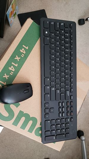 Dell Wireless keyboard and Mouse for Sale in Wimauma, FL