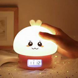 Cute animal alarm clock with 7 color light and remote control for Sale in Downey,  CA