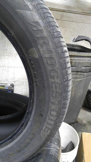 4 Tires Bridgestone 235/55/18 for Sale in Chicago, IL