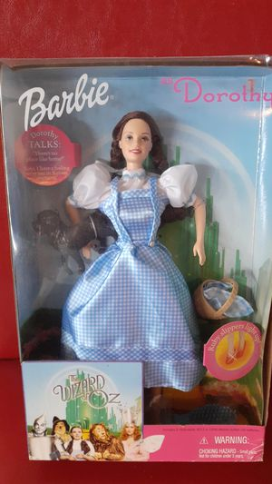 NEW IN BOX BARBIE AS DOROTHY WIZARD OF OZ MATTEL for Sale in Kissimmee, FL