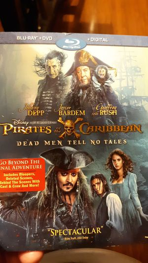 Pirates of the Caribbean Dead Men tell no tells for Sale in Odessa, TX