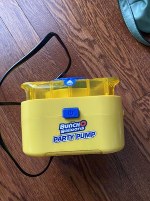Bunch o balloons party pump for Sale in Washington, DC