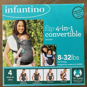Infantino Flip Advanced 4-in-1 Carrier for Sale in Los Angeles, CA