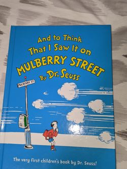 And to Think That I Saw It on Mulberry Street Dr. Seuss Brand New for Sale in Queens,  NY