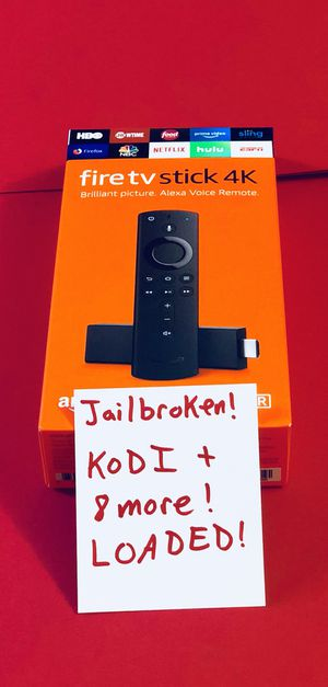 Fire TV Stick with everything and more. Message for details. Pickup in Elizabeth today for Sale in Elizabeth, NJ