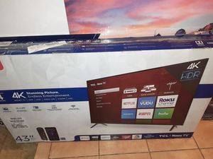 """TV TCL SMART 43""""-$185 for Sale in Norcross, GA"""