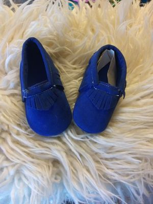 Baby Moccs size 6-9 mo. for Sale in Huntington Beach, CA