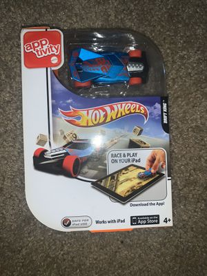 Hotwheels Apptivity works with iPad! Hot Toy! for Sale in Moreno Valley, CA