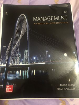 Management 8th edition for Sale in Nashville, TN