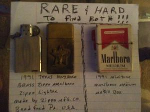 Rare Marlboro lighter and Matchbox for Sale in Louisville, KY