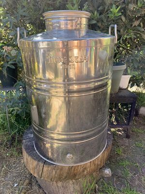 Stainless Steel Water Dispenser/Storage Container for Sale in Oakland, CA