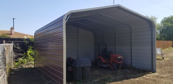 18'x21' shed. Less than 2 years old in like new condition. Comes with engineered drawings. You take down and transport. $3,000