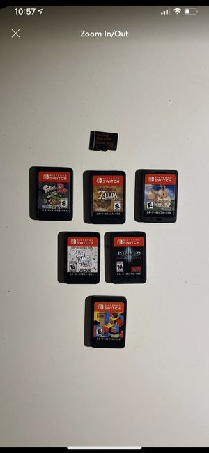 Nintendo switch games for Sale in Cleveland, OH