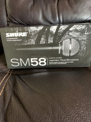 Shure SM58-LC Professional Vocal Microphone for Sale in Phoenix, AZ