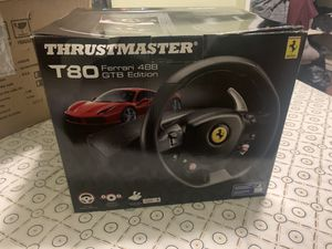 Thrustmaster T80 Ferrari for Sale in Queens, NY
