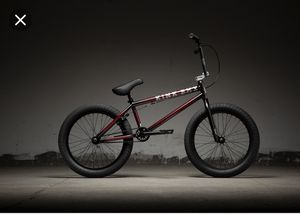 KINK GAP BMX BIKE NEW WITH TAGS 2019 BLACK CHERRY STUNT BIKE for Sale in Baltimore, MD