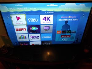 42 inch tcl roku smart tv for sale for Sale in Brooklyn, NY