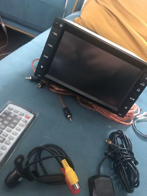 Car GPS system and DVD player back camera for Sale in El Cajon, CA