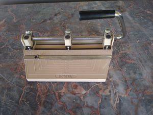 Vintage Boston three-hole standard paper punch for Sale in Prescott, AZ