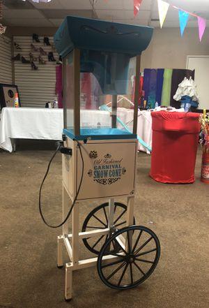 Snowcone Machine for Sale in Modesto, CA