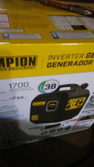 Champion Inverter generator 2000 for Sale in Tucson, AZ