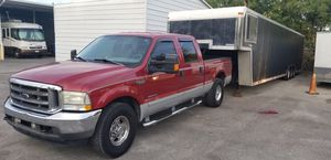 2001 Ford F-250 Super Duty Cab/44ft Trailer(8k) for Sale in St. Petersburg, FL