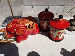 Elephant and the two containers for Sale in Poway, CA