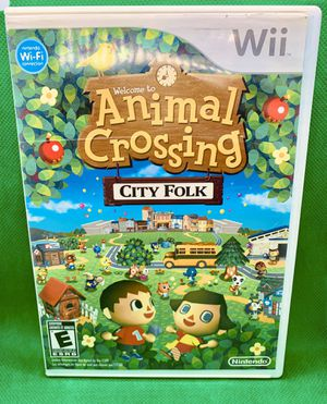 ANIMAL CROSSING City Folk Nintendo Wii & Wii U CIB for Sale in Highlands Ranch, CO