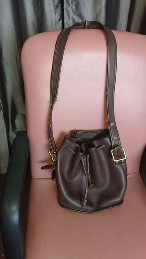 "Vintage Coach bucket bag brown 10x10x5 "" for Sale in Phoenix, AZ"