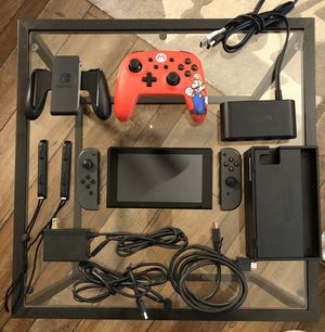 Nintendo Switch Console with 10 Games for Sale in Odenton, MD