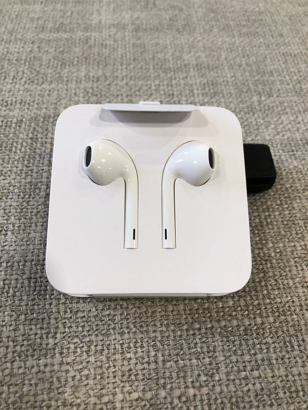 Apple brand (wired) earbuds
