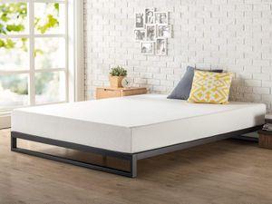 Zinus Trisha 7 Inch Heavy Duty Low Profile Platforma Bed Frame, Queen for Sale in Rio Linda, CA