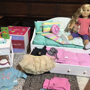 American Girl Doll - Isabelle - Bed, Dresser And Accessories for Sale in Abington, PA