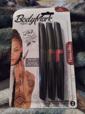 BIC Body Mark Temporary Tattoo Markers for Sale in Joshua, TX