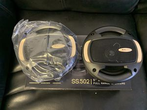 Soundstream car audio . 5 1/4 inch car stereo speakers. High quality. New for Sale in Mesa, AZ