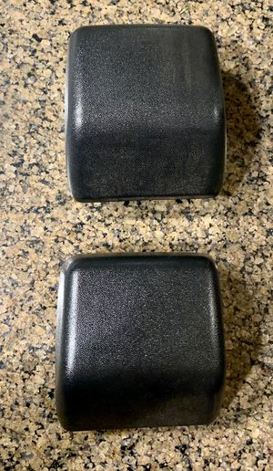 Jeep Wrangler TJ Front Bumper Impact Pads 97-06 OEM Stock for Sale in Citrus Heights, CA