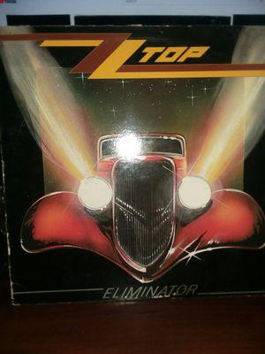 ZZ Top Eliminator Vinyl for Sale in Phoenix, AZ