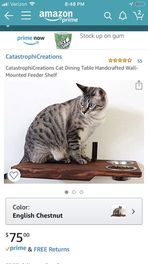 Cat dinning table and hammock for Sale in Seattle, WA