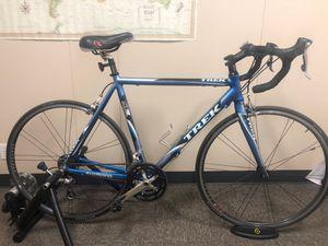 Trek 1500 Road Bike 54 cm with CycleOps trainer for Sale in Cedar Park, TX