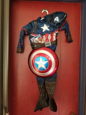 Captain America child costume for Sale in Whittier, CA