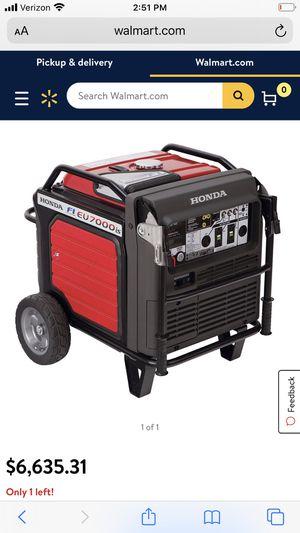 Honda generator for Sale in Hemet, CA