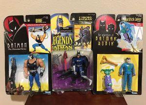 Batman Collectible Toys Bane/Joker/Cyborg Batman for Sale in Thonotosassa, FL