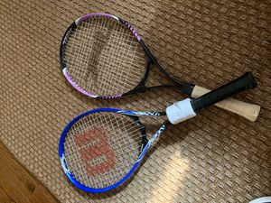 Wilson and Slazenger tennis rackets for Sale in Middletown, NJ