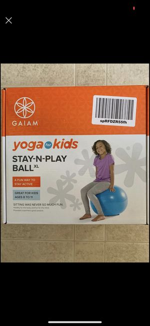 Child Yoga ball with legs GAIM for Sale in Centreville, VA
