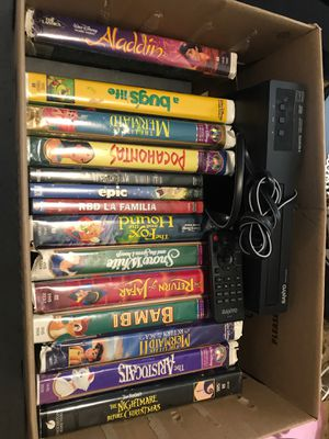 Classic VHS tape movie bundle for Sale in San Antonio, TX