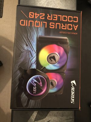 Aorus liquid cooler 240 mm for Sale in Lakeland, FL