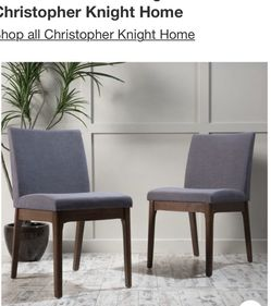 New Gray Dining Chairs(2) for Sale in Alhambra,  CA