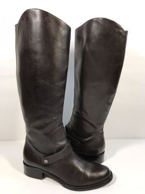 VIA SPIGA Women's Brown Leather Riding Boots 7.5 for Sale in Lanham, MD
